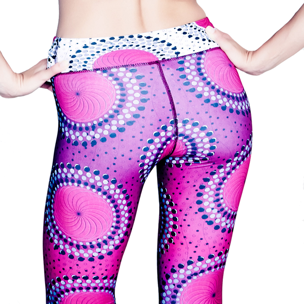 Women's Purple Performance Leggings
