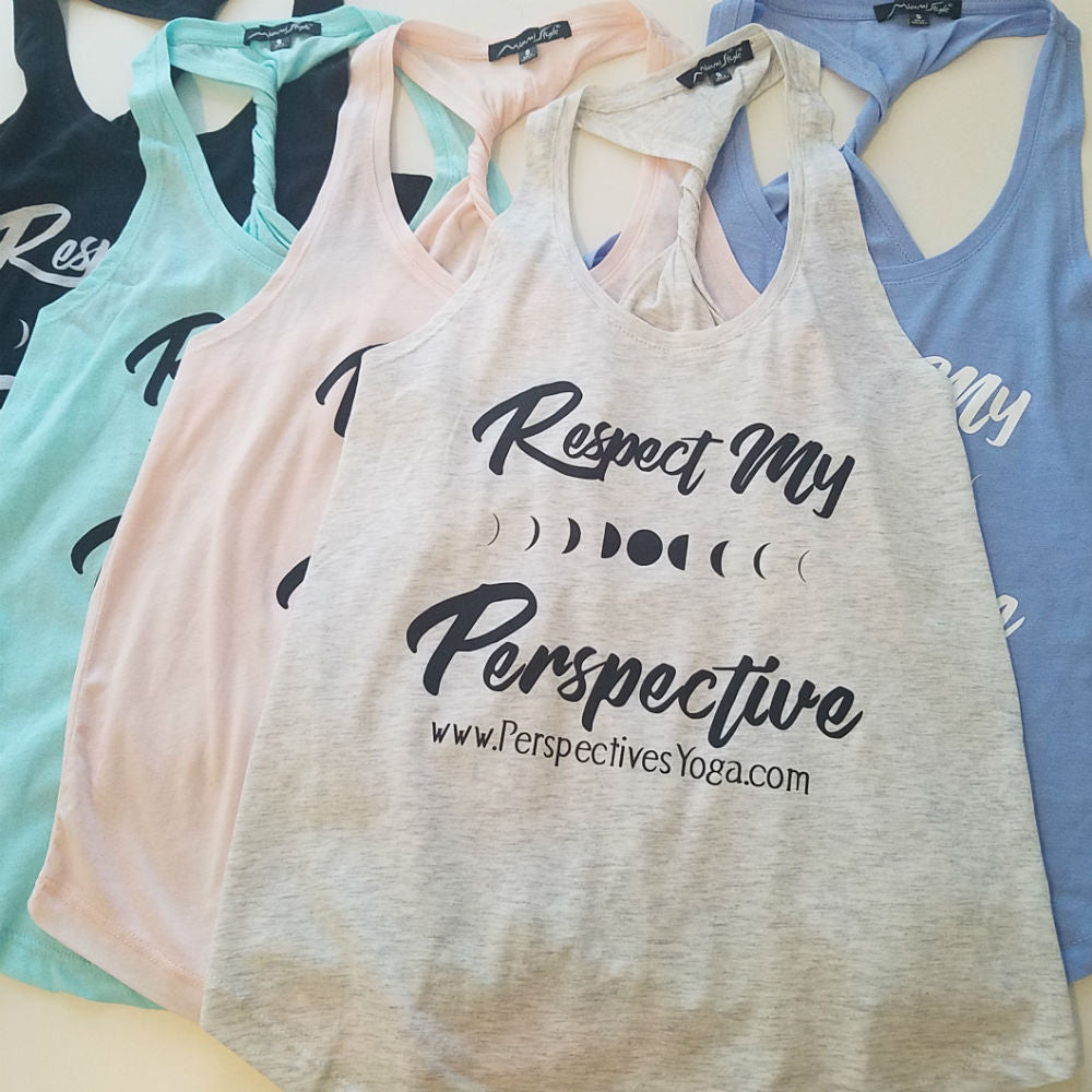 Respect My Perspective Tank - Black