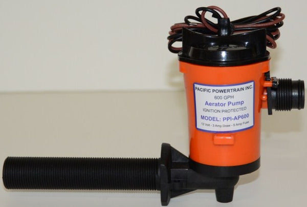 600 GPH Live Well Aerating Pump