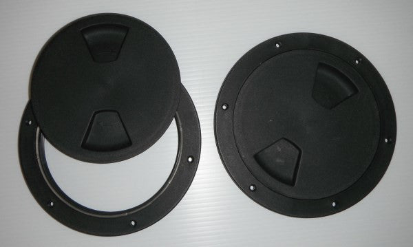 "6"" ABS Screw Out Deck Plate"