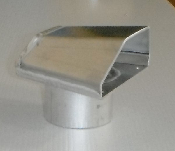 "4"" Aluminum Fabricated Cowl Vent"