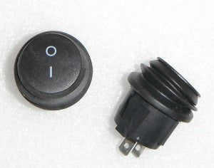 Round 19mm Two Position Waterproof Switch