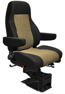 "National ""The Captain"" Air Ride Seat – High Back- No Upholstery"