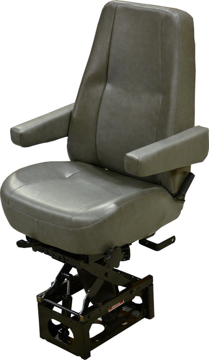 Bostrom T-915 Air Ride Seat- Mid Back- No Upholstery