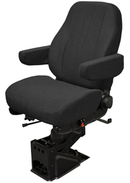"National ""The Captain"" Air Ride Seat-Mid Back- No Upholstery"