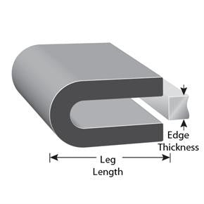Rubber Edge Trim (250' Roll)