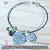 A Piece Of My Heart Is In Heaven - Bracelet or Necklace