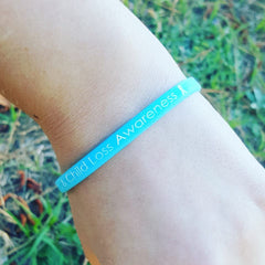 Pregnancy Infant & Child Loss Awareness SlimBand - Blue