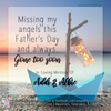 Digital Personalized Keepsake Graphic - Father's Day 2020