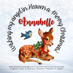 Digital Personalized Keepsake Graphic - Christmas 2020