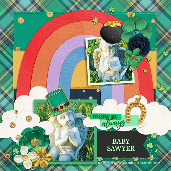 Digital Personalized Keepsake Graphic - St. Patrick's Day 2019