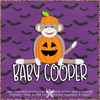 Digital Personalized Keepsake Graphic - Halloween 2019