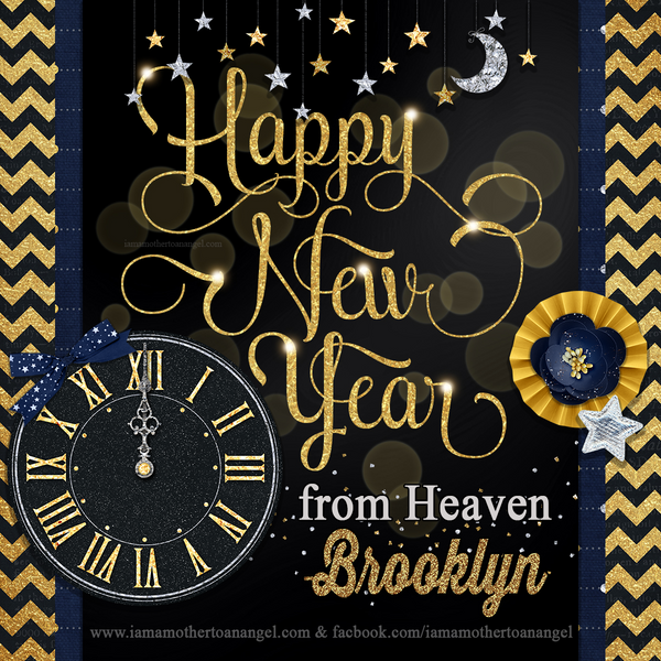 Digital Personalized Keepsake Graphic - New Year 2017
