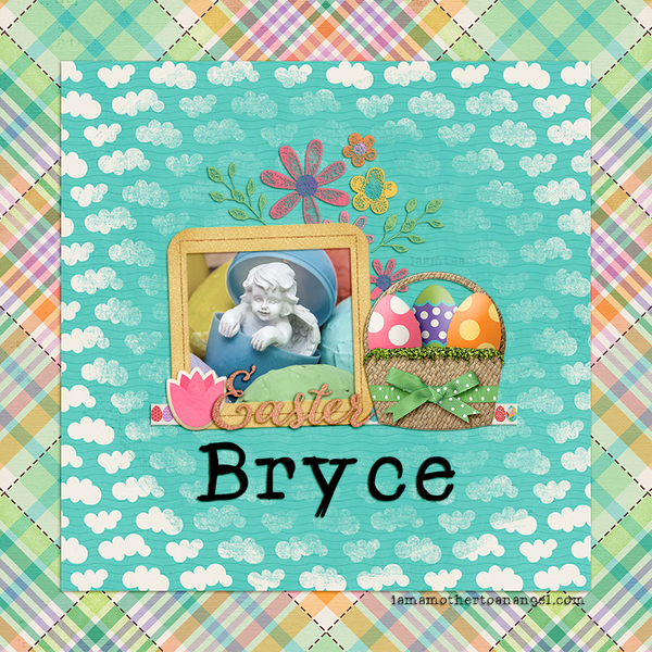 Digital Personalized Keepsake Graphic - Easter 2019 Offer