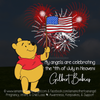 Digital Personalized Keepsake Graphic - July 4th 2020
