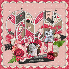 Digital Personalized Keepsake Graphic - Love You Offer (No Photos)