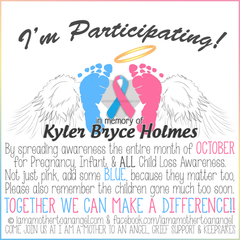 Digital Personalized Keepsake Graphic - I'm Participating October 2016 Offer