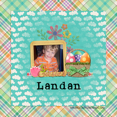 Digital Personalized Keepsake Graphic - Easter 2019 Offer WITH PHOTO
