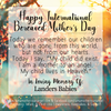 Digital Personalized Keepsake Graphic - International Bereaved Mother's Day 2019