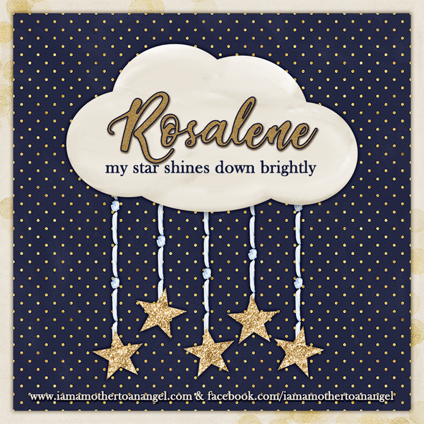Digital Personalized Keepsake Graphic - Brightest Star Offer