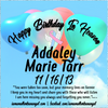 Digital Personalized Keepsake Graphic - Happy Birthday In Heaven