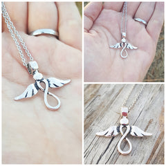 Infinity Angel Necklace