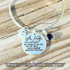 A Mother Is Not Defined By The Number Of Children You Can See - Bracelet or Necklace