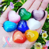Catseye Crystal Hearts - Your choice of color