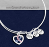 Alex + Ani Style Awareness Charm Bracelet
