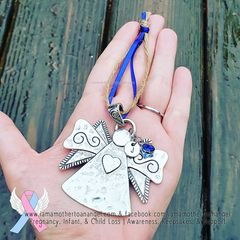 Dainty Angel Ornament (Personalizable)