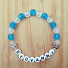 Sweet Little Butterflies Bracelet - Personalized - YOU PICK 2 COLORS