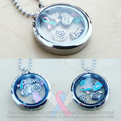 Never Forgotten Memory Locket