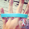 Wristband - I Am A Mother To An Angel - Baby Blue