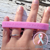 Wristband - I Am A Mother To An Angel - Baby Pink