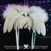 Large Feather Wings Memorial Ornament - Your choice of color