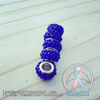"Pandora Fit ""Sapphire"" Crystal Encrusted Charm"