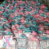 Small Pink & Blue Awareness Ribbon Pin