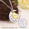 Son - I Love You To The Moon & Back Necklace
