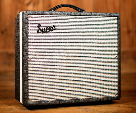 NEW Supro 1695T Black Magick 1x12 25W Combo Tube Amp w/ Footswitch and Cover (SKU 6094C)