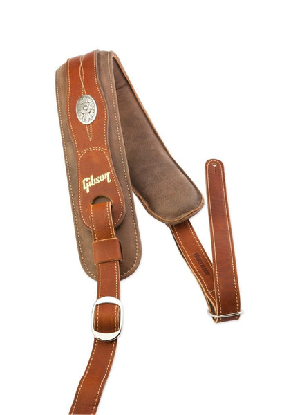 Gibson The Austin Comfort Guitar Strap, Brown (SKU 6143)