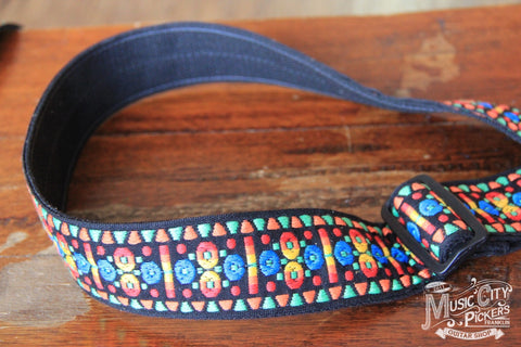 "Franklin Straps 2"" Dot Retro Folk Weave F1-BLO"