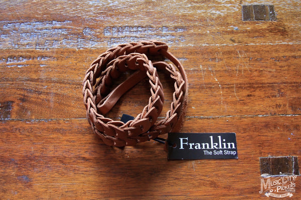 Franklin Straps Caramel Leather Mandolin 7-CA