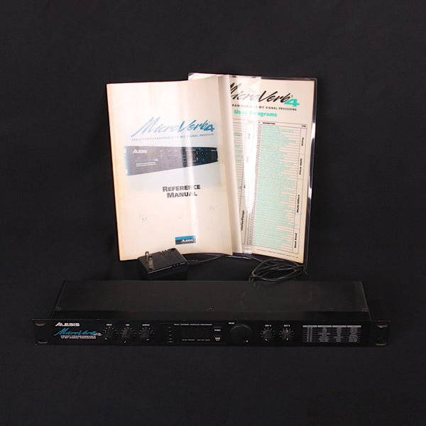 Alesis MicroVerb 4 w/ Papers and Box (SKU 6209K)