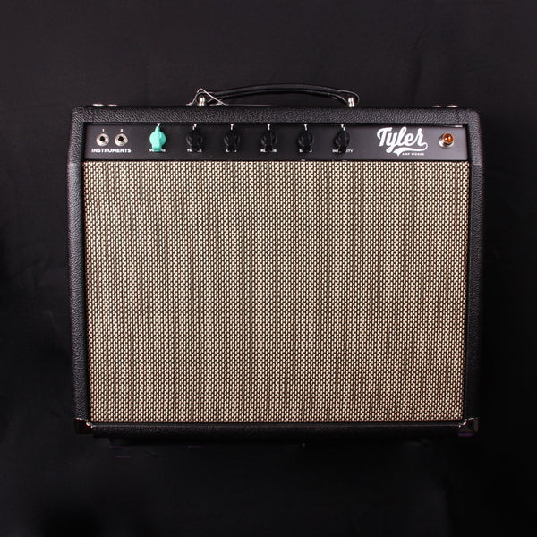 NEW Tyler Amp Works JT14 Princeton Combo Black w/ Marshall Grill Cloth (SKU 6214CK)