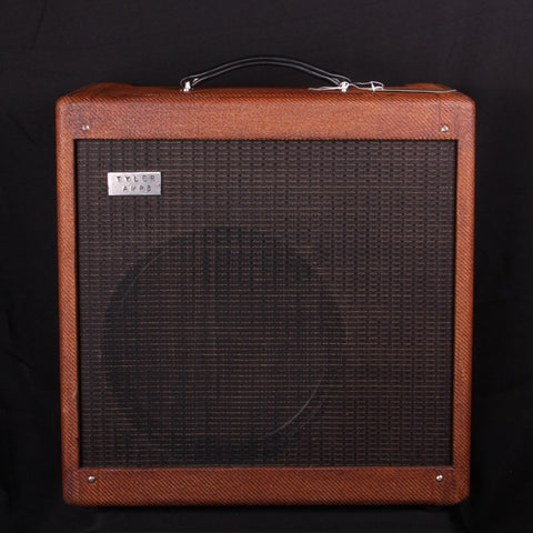 NEW Tyler Amp Works HM18+ w/ EF86 Combo in Aged Carmel Tweed (SKU 6213CK)