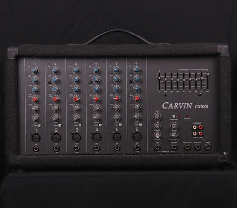 Carvin CX630 6 Channel Powered Mixer (SKU 6229K)