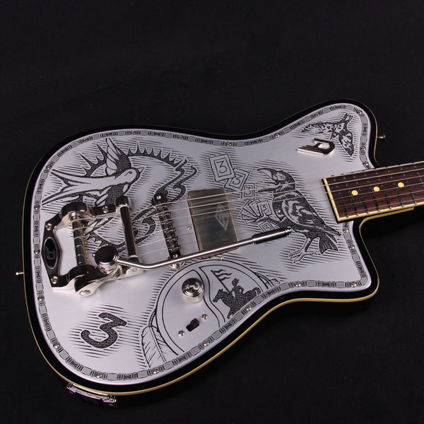 New-Duesenberg Johnny Depp Signature Electric Guitar- OHSC (SKU 5379)