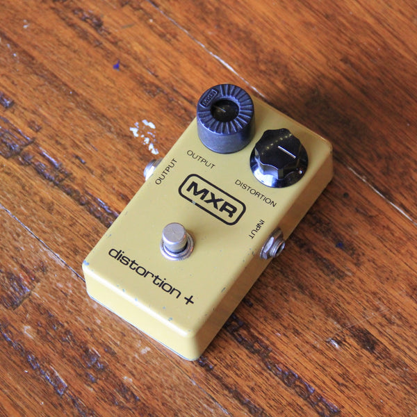 Vintage MXR Distortion Plus + Guitar Effects Pedal (SKU 5571K)