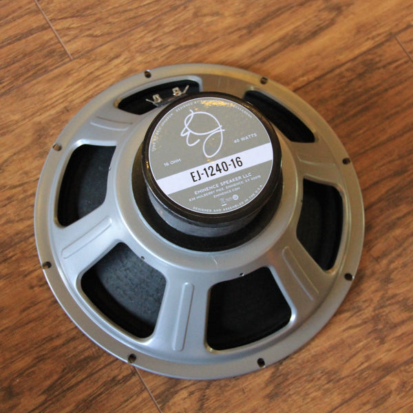 "Eminence EJ-1240-16 Eric Johnson 12"" Speaker (SKU 5585C)"