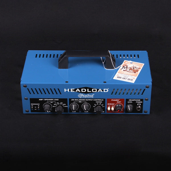 Radial Headload V8 Speaker Load Box with Cab Simulator (SKU 6087CK)